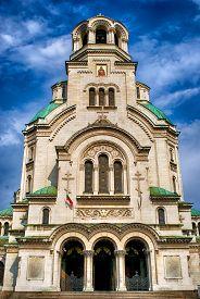 Alexander Nevsky Cathedral In Sofia. Bulgaria.