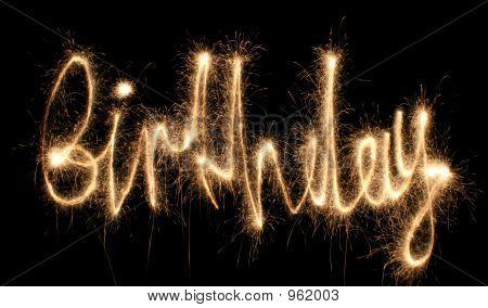 Birthday Sparkler
