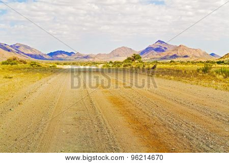 Spreetshoogte Pass Landscape In Namibia