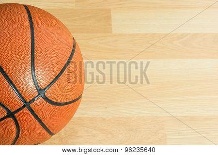 Close Up Basketball