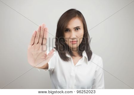 No On Her Hand
