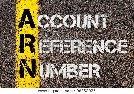 Business Acronym Arn As Account Reference Number
