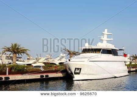 Moder Yacht In Spain