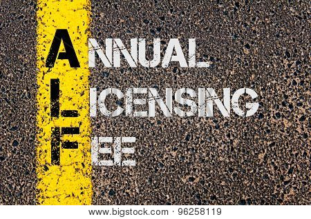 Business Acronym Afl As Annual Licensing Fee
