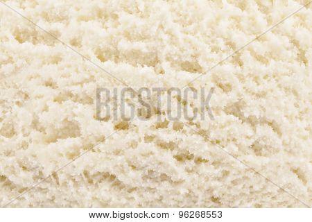 yellow vanilla ice cream background texture