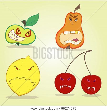 Evil Fruit Killer Very Harmful And Dangerous