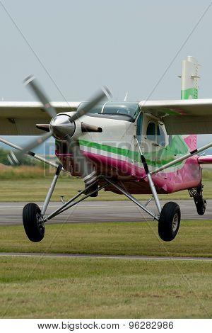 Old Airplane Departure