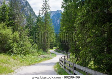 Bike Road Int The Dolomites