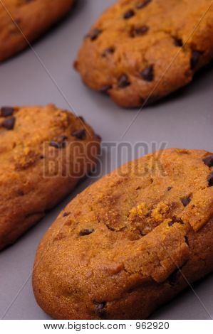 Lebensmittel - frische warme Cookies