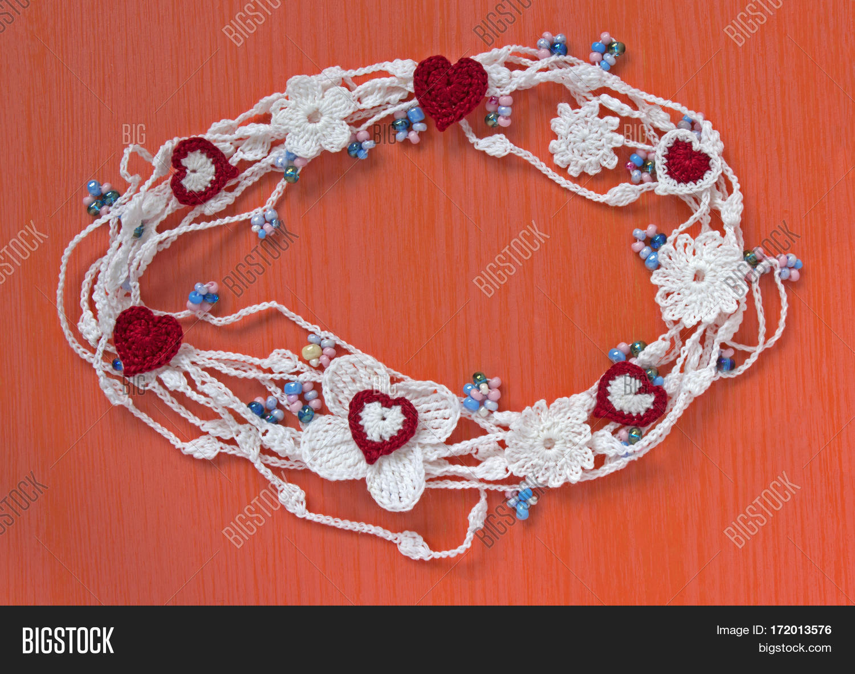 Handmade Crocheted Image Photo Free Trial Bigstock