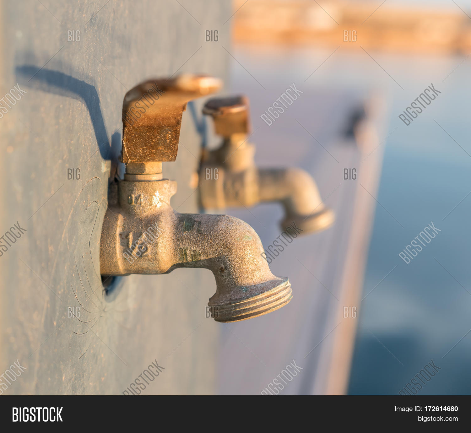 Outdoor Water Tap Image & Photo (Free Trial) | Bigstock