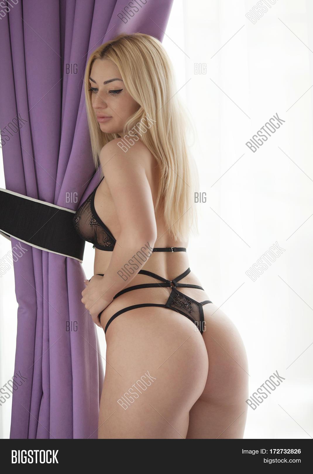 Bdsm woman panties butt