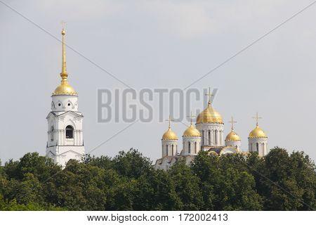 Uspensky Cathedral In Vladimir
