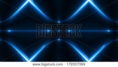 Luxury Modern Abstract blue Laser Beam Light Background