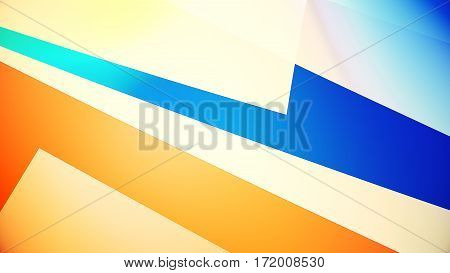 Abstract Background From Colourful Huge Shapes