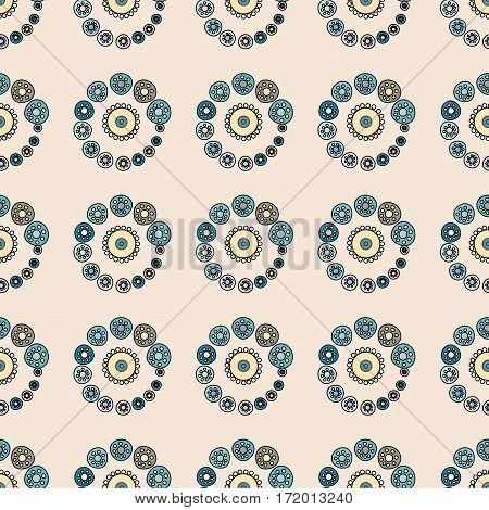 Bright Varicolored seamless pattern background. Vector illustration.