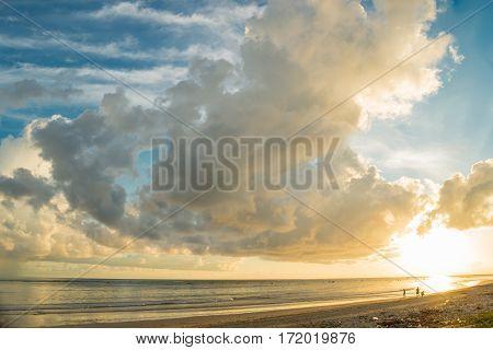 Cloud Blue Sky And The Beach Thailand