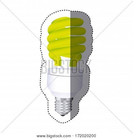 city bulb energy icon image, vector illustration design