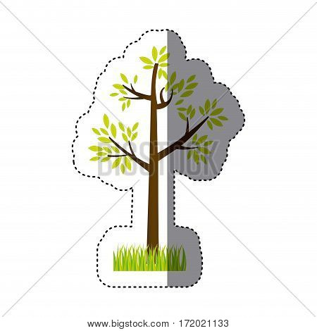 tree icon image stock, vector illustation design
