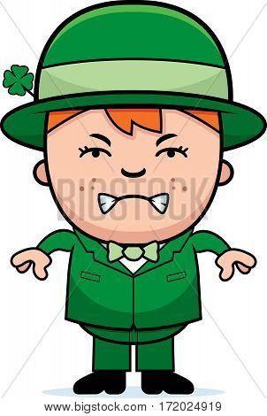 Angry Boy Leprechaun