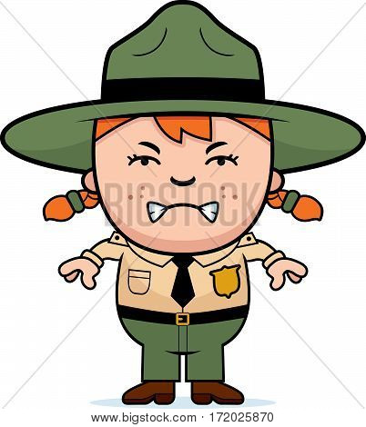Angry Child Park Ranger