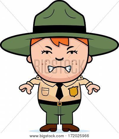 Angry Boy Park Ranger