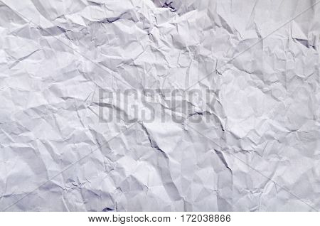 Wrinkled paper great as a background close