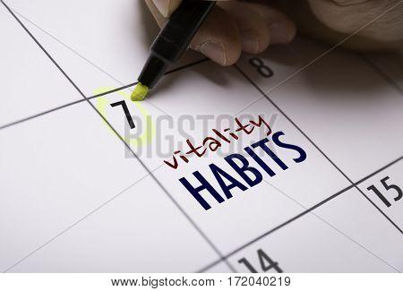 Vitality Habits