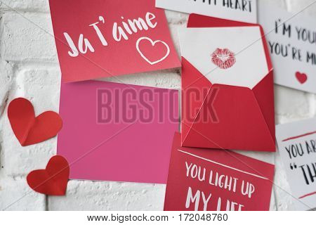 Love Letters Wall Ja T'aime
