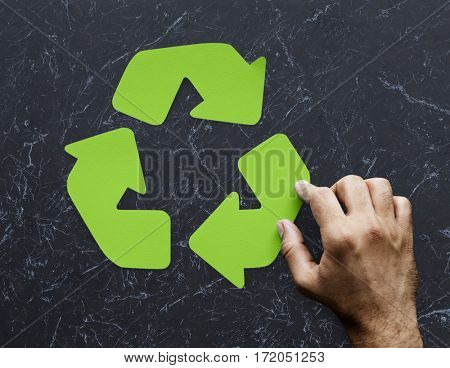 Arrow Process Connection Recycle Step