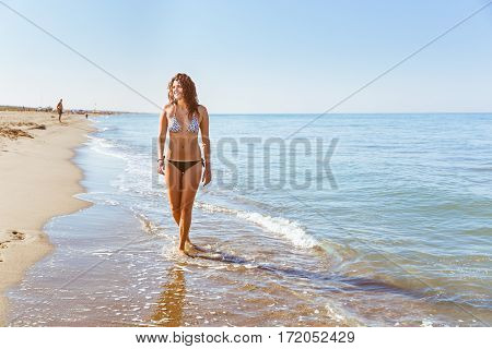 Portrait Of A Girl At Seaside