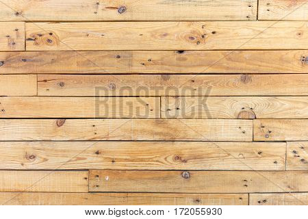 Blank rustic wooden wall background as texture
