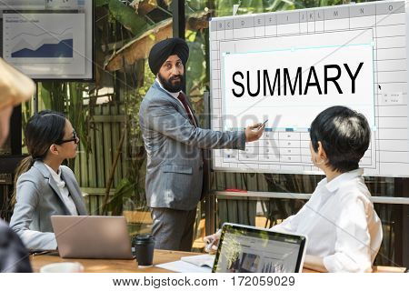 Performance Summary Management Spreadsheet Word