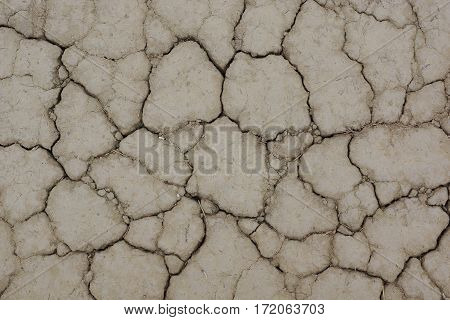 Season drought. Abstract background of cracked soil.