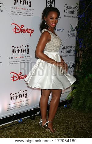 LOS ANGELES - NOV 1:  Anika Noni Rose at the The Walt Disney Family Museum 2nd Annual Fundraising Gala at Disney's Grand Californian Hotel & Spa on November 1, 2016 in Anaheim, CA