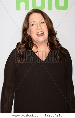 PASADENA - JAN 7:  Ann Dowd at the HULU TCA Winter 2017 Photo Call at the Langham Hotel on January 7, 2017 in Pasaden, CA