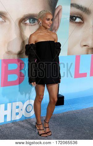 LOS ANGELES - FEB 7:  Zoe Kravitz at the