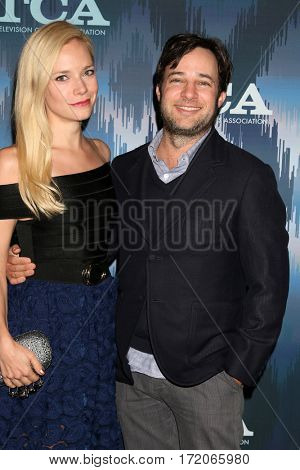LOS ANGELES - JAN 11:  Fiance, Danny Strong at the FOXTV TCA Winter 2017 All-Star Party at Langham Hotel on January 11, 2017 in Pasadena, CA
