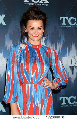 LOS ANGELES - JAN 11:  Alison Wright at the FOXTV TCA Winter 2017 All-Star Party at Langham Hotel on January 11, 2017 in Pasadena, CA