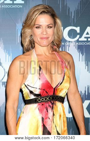 LOS ANGELES - JAN 11:  Cat Cora at the FOXTV TCA Winter 2017 All-Star Party at Langham Hotel on January 11, 2017 in Pasadena, CA
