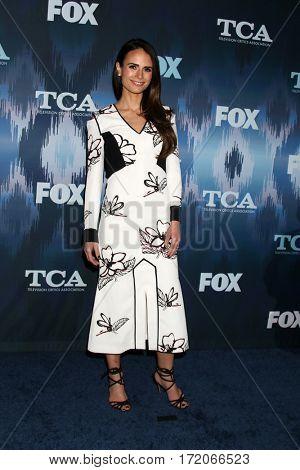 LOS ANGELES - JAN 11:  Jordana Brewster at the FOXTV TCA Winter 2017 All-Star Party at Langham Hotel on January 11, 2017 in Pasadena, CA