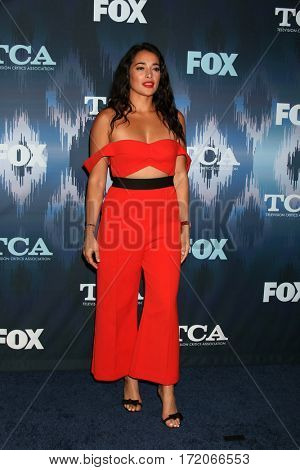 LOS ANGELES - JAN 11:  Natalie Martinez at the FOXTV TCA Winter 2017 All-Star Party at Langham Hotel on January 11, 2017 in Pasadena, CA