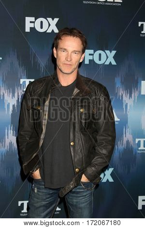 LOS ANGELES - JAN 11:  Stephen Moyer at the FOXTV TCA Winter 2017 All-Star Party at Langham Hotel on January 11, 2017 in Pasadena, CA