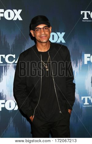 LOS ANGELES - JAN 11:  Yassir Lester at the FOXTV TCA Winter 2017 All-Star Party at Langham Hotel on January 11, 2017 in Pasadena, CA