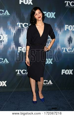 LOS ANGELES - JAN 11:  Katie Findlay at the FOXTV TCA Winter 2017 All-Star Party at Langham Hotel on January 11, 2017 in Pasadena, CA