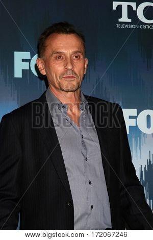 LOS ANGELES - JAN 11:  Robert Knepper at the FOXTV TCA Winter 2017 All-Star Party at Langham Hotel on January 11, 2017 in Pasadena, CA