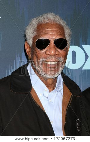 LOS ANGELES - JAN 11:  Morgan Freeman at the FOXTV TCA Winter 2017 All-Star Party at Langham Hotel on January 11, 2017 in Pasadena, CA