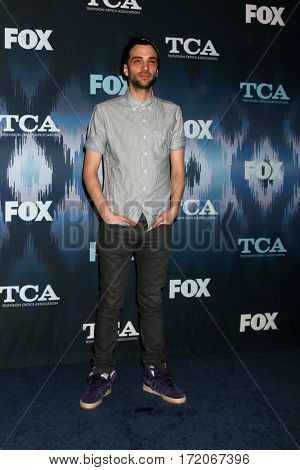 LOS ANGELES - JAN 11:  Jay Baruchel at the FOXTV TCA Winter 2017 All-Star Party at Langham Hotel on January 11, 2017 in Pasadena, CA