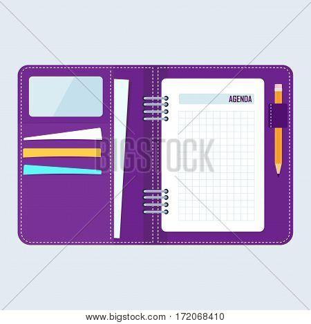 Agenda Business Notebook