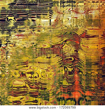 Abstract colorful background or backdrop with grunge texture and different color patterns: yellow (beige); brown; green; red (orange); black; pink